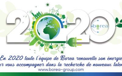 BOREA vous souhaite une excellente année 2020