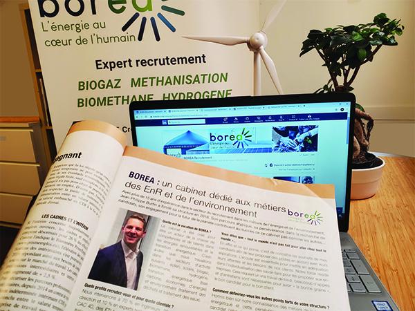 Retrouver les valeurs de Jean-Philippe Burtin et de son entreprise borea dans le magazine Entreprendre.